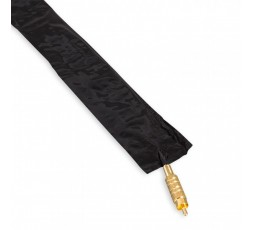 Black Clip Cord Sleeve Covers - 250pz. MakeUp Supply